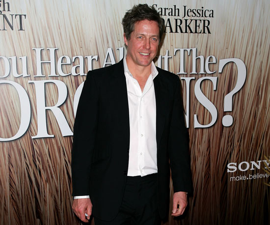 Slide Photo of Hugh Grant at Australia Premiere of Did You Hear About the Morgans