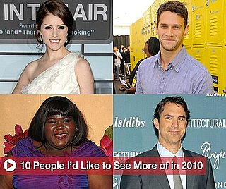 Sugar Shout Out: 10 People Buzz Wants More of in 2010