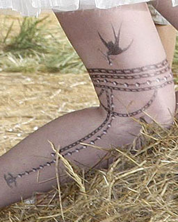 Chanel Temporary Tattoos to Go on Sale 2010-01-08 07:00:11