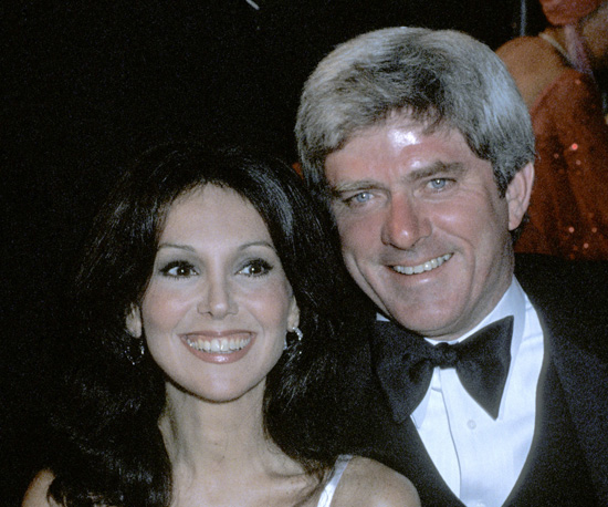 With Then-Beau, Phil Donahue, in 1978