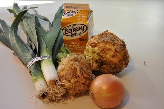 Leek Celery Root Soup Recipe
