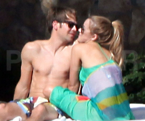 Slide Photo of Lauren Conrad and Kyle Howard in Mexico