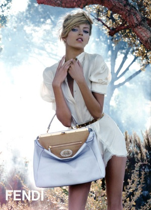 Photo of Fendi Spring 2010 Ad Campaign Featuring Anja Rubik