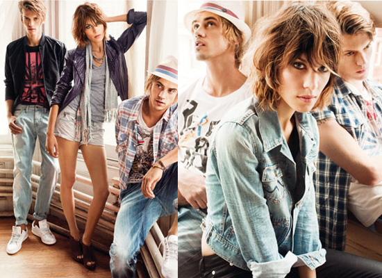 Photos of Alexa Chung for Pepe Jeans 2010-01-04 03:30:02
