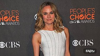 Diane Kruger Rocks Herve Leger at People's Choice Awards: Tight, White & Done Right
