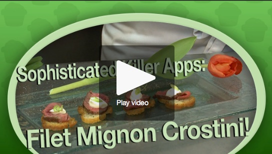 Video: Learn How to Make Filet Mignon Crostini