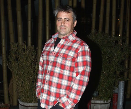 Slide Photo of Matt LeBlanc With Gray Hair