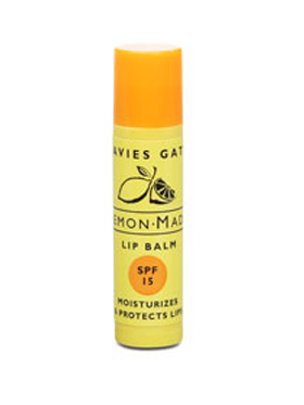 The Perfect Summer Lip Balm - Lemon Made with SPF 15