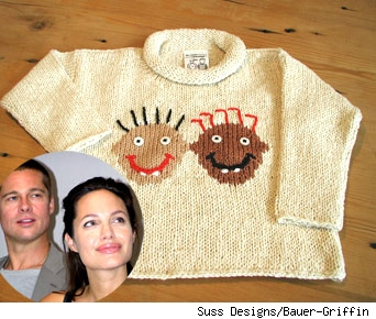 Suri and Shiloh Sweet Sweater Surprise