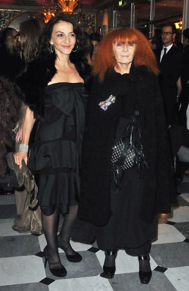 Nathalie and Sonia Rykiel