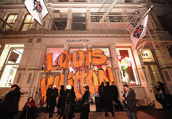 Louis Vuitton Hosts A Tribute To Stephen Sprouse