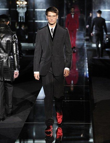 Milan: Dolce & Gabbana Men's Fall 2009