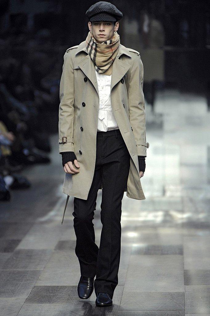 Milan: Burberry Prorsum Men's Fall 2009