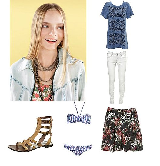 Topshop Launches Into Spring