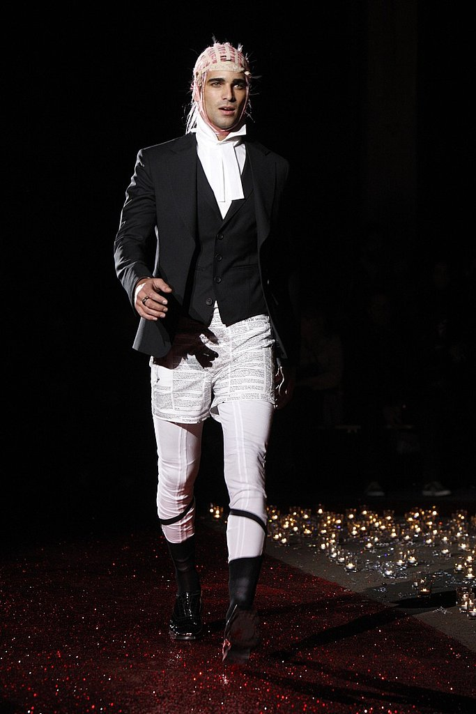 Paris: John Galliano Men's Fall 2009