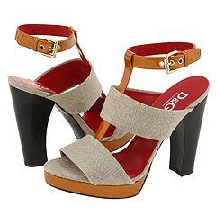 D&G Dolce & Gabbana Platform Sandals (were $529) $263 @ Zappos