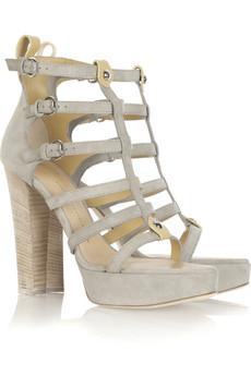 Giuseppe Zanotti Platform Gladiator Sandals $875 @ Net-a-Porter