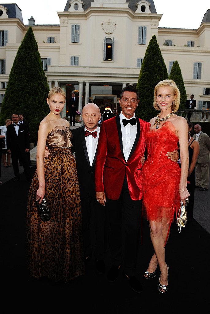 Natasha Poly, Domenico Dolce, Stefano Gabbana, Eva Herzigova