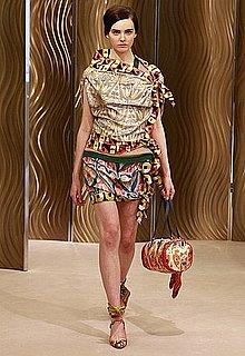 Miuccia Prada Digs Up Clashing Vintage Prints for Cruise 2010