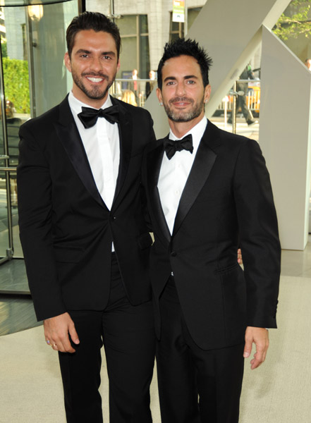 Lorenzo Martone and Marc Jacobs