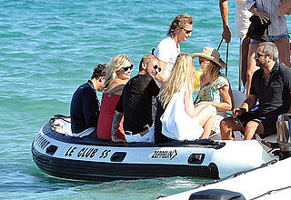 Naomi Campbell, Kate Moss, Karen Mulder Meet Up with Designers for a Little Yacht Vacationing