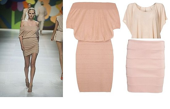 Meanwhile In Current Season: Stella McCartney And A Topshop Lookalike