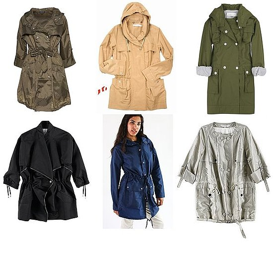 Shopping: Anoraks In Every Shade And Shape