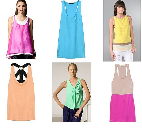 Shopping: Candy Colored Tanks Stand Out