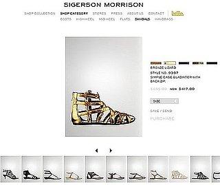 Sigerson Morrison Launches Online Store