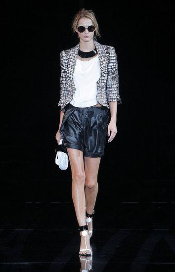 Milan Fashion Week: Emporio Armani Spring 2010