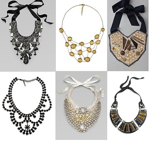 Shopping: Jeweled Neckpieces