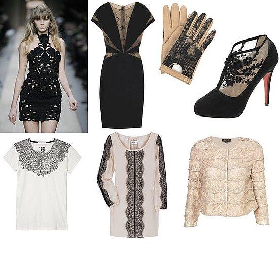 Shopping: Lace Detailing