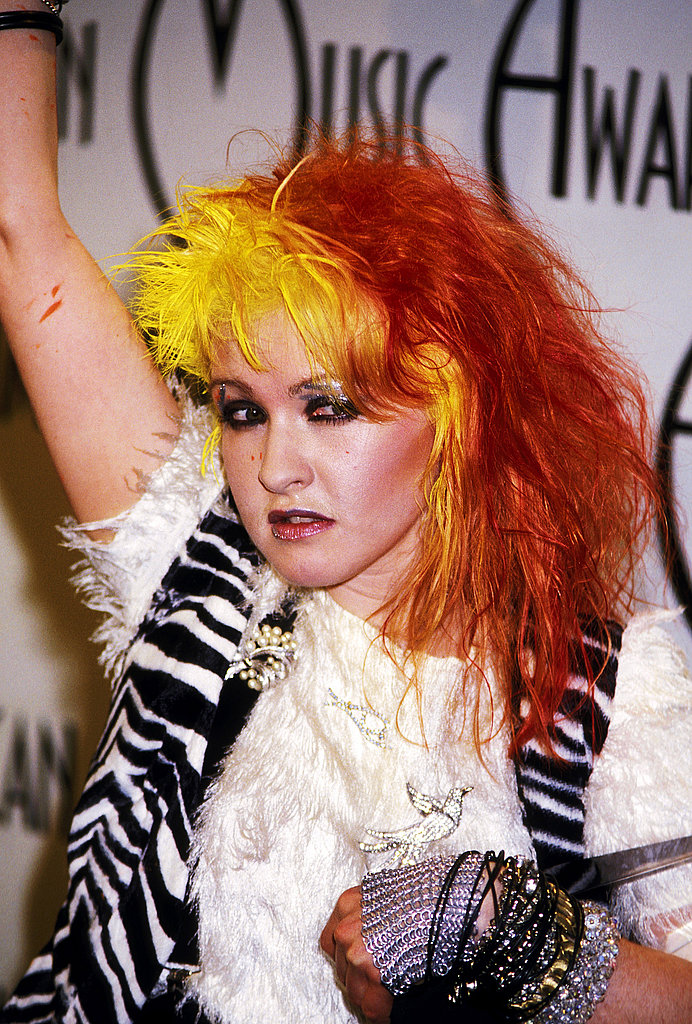 Cyndi Lauper S Fun Ct Colonial Is This Week S Most Popular: Cyndi Lauper Hair And Makeup Pictures 2011-06-22 13:10:04