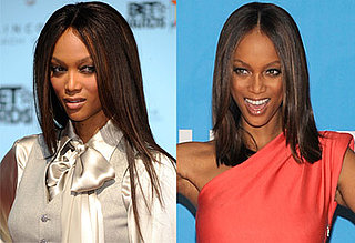 Tyra Banks's Hair at the 2009 Daytime Emmy Awards
