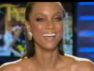 Tyra Wigs Out on TV