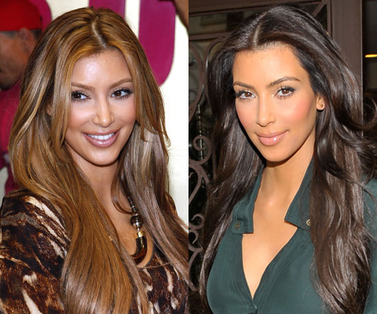Which color should Kim Kardashian stick with?