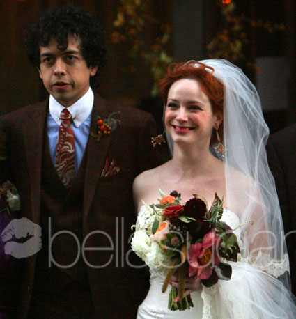 With new husband Geoffrey Arend