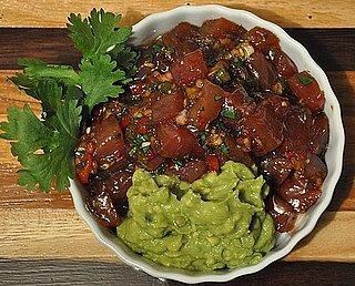 Spicy Tuna Poke With Guacamole