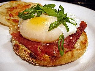 Recipe For Poached Egg and Prosciutto Sandwich