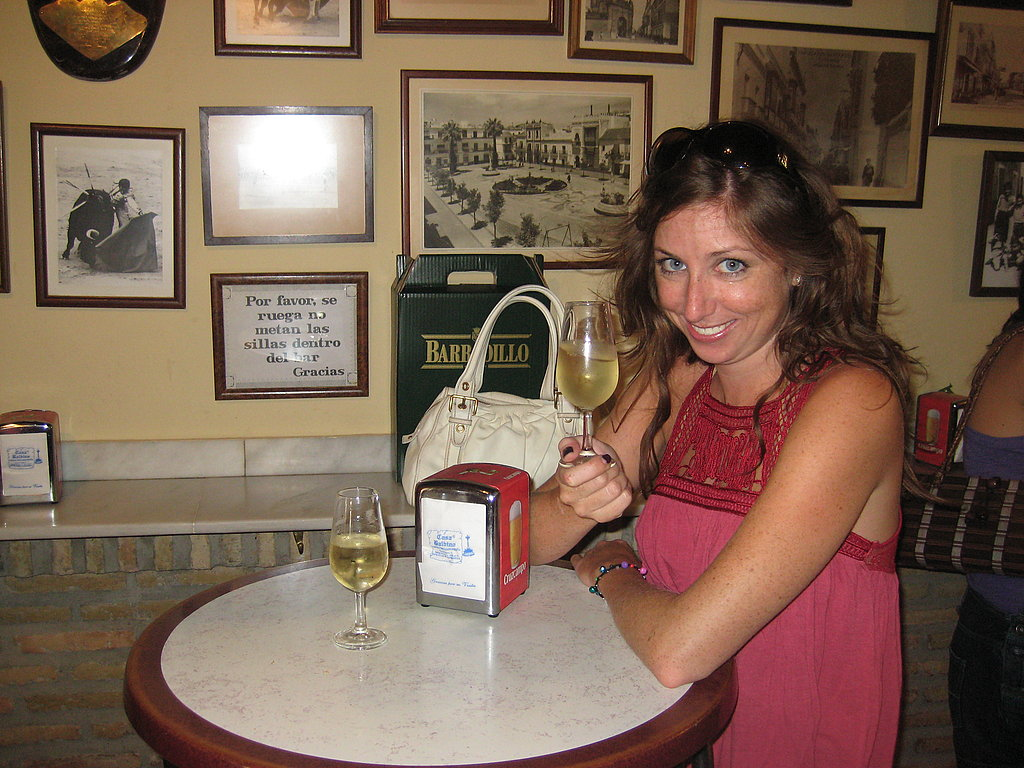 The Proper Way to Hold a Sherry Glass