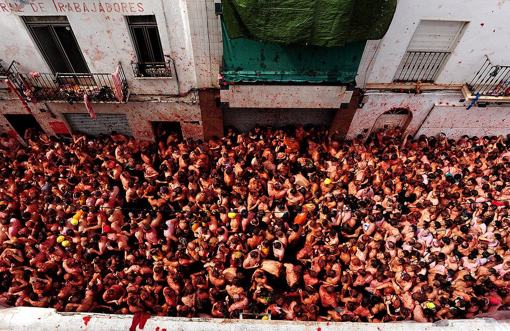 Photo Gallery: La Tomatina 2009