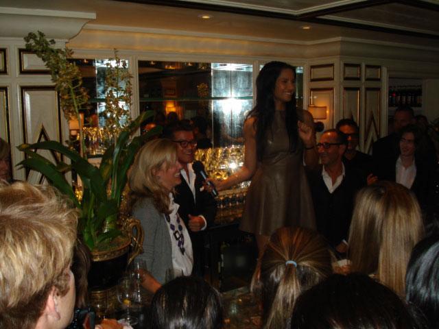 Padma Lakshmi Brings Fashion and Food Together