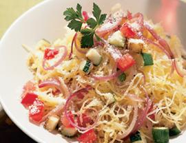 Fast & Easy Dinner: Italian-Style Spaghetti Squash