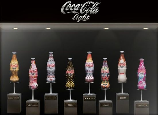 Italy's Fashion Houses Pay Tribute to Coca-Cola