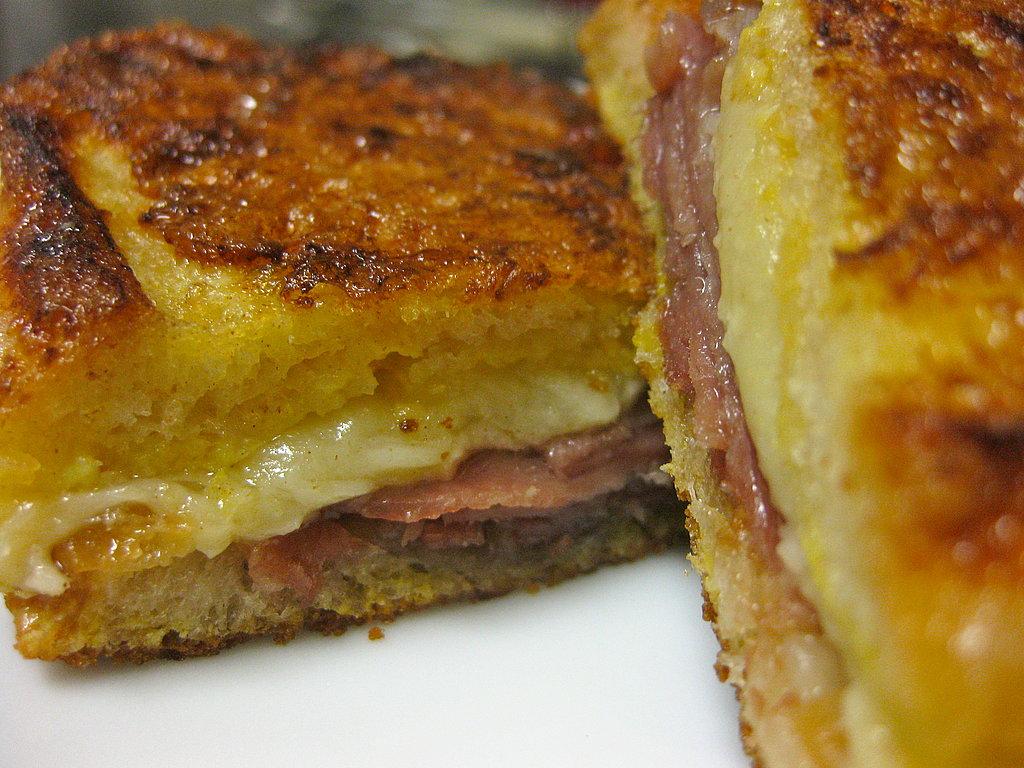 Spanish Ham and Manchego Grilled Cheese Sandwich Recipe | POPSUGAR ...