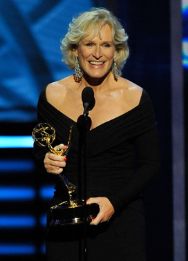 Glenn Close Wins Emmy for Outstanding Lead Actress in a Drama Series