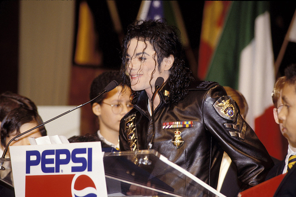 Michael was a longtime spokesman for Pepsi, starring in many commercials through the years.