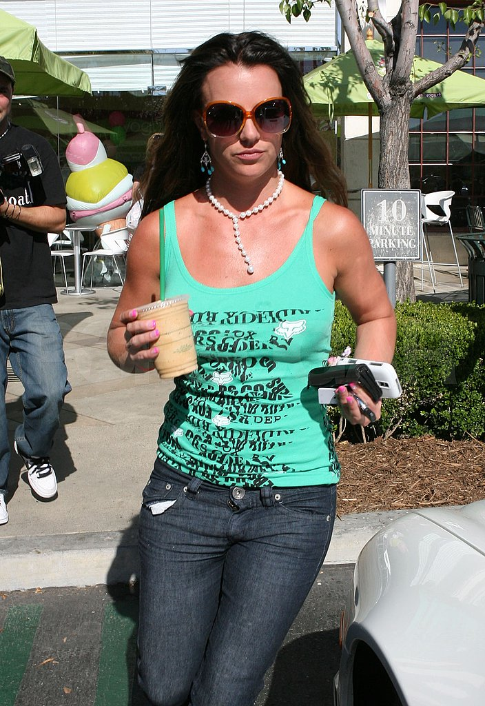 Photos of Britney Spears At Starbucks