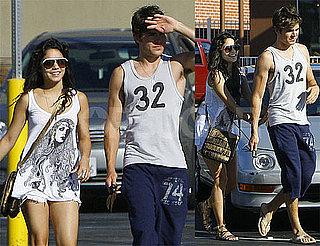 Photos of Zac Efron and Vanessa Hudgens at Panera in LA