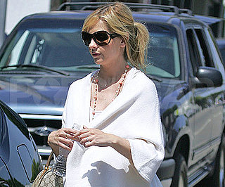 Photo Slide of Pregnant Sarah Michelle Gellar Out in LA in White